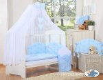 My Sweet Baby - Glamour Chic Collection Cot - Light Blue
