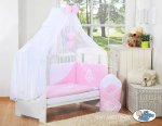My Sweet Baby - Glamour Collection Cot - Pink